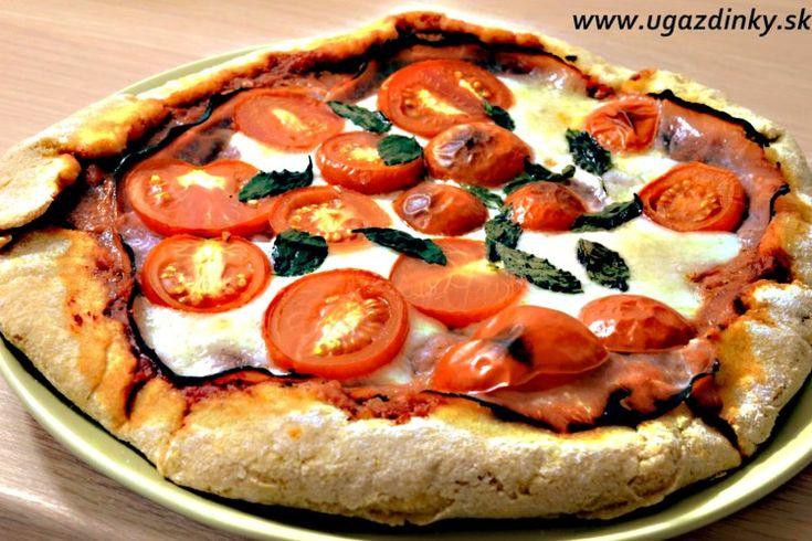 Bezlepková pizza z ryžovej a kukuričnej múky