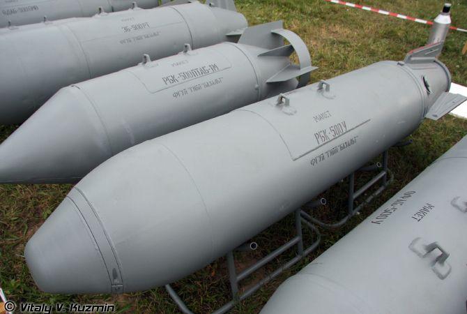 РБК-500 Разовые бомбовые кассеты массой около 500 кг с разнообразной полезной начинкой.