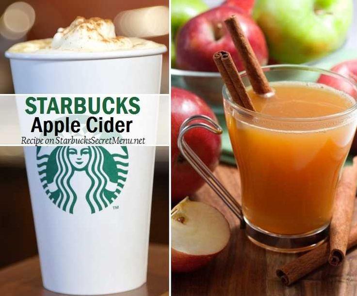 Best Starbucks Apple Cider Ideas On Pinterest Starbucks - Secret benefits drinking apple juice