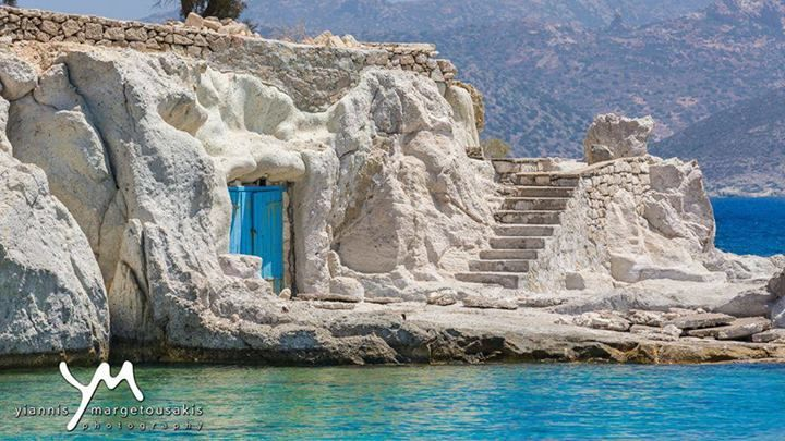 Strange? Mythical? Fiction? Or just... Greece? Kimolos Island