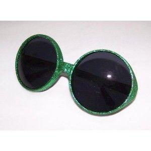 Lunettes disco vert pailleté adulte, accessoire déguisement disco, fêtes. http://www.baiskadreams.com/1518-lunettes-disco-vertes-pailletees-accessoires-deguisement-disco.html