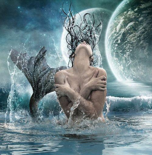 Moonlit Merman