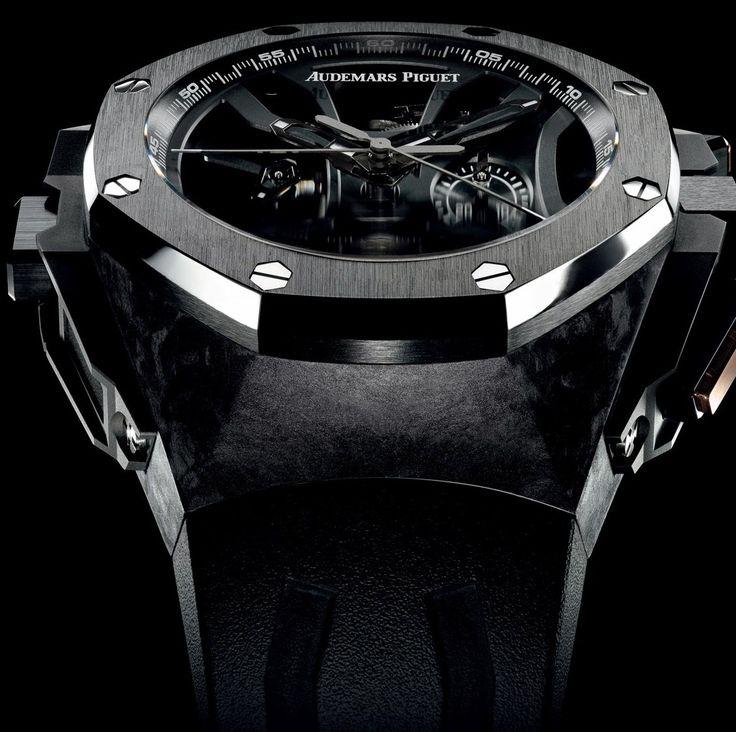"""Audemars Piguet - Royal Oak Concept Laptimer """"Michael Schumacher"""".  #AudemarsPiguet #luxury #watches"""