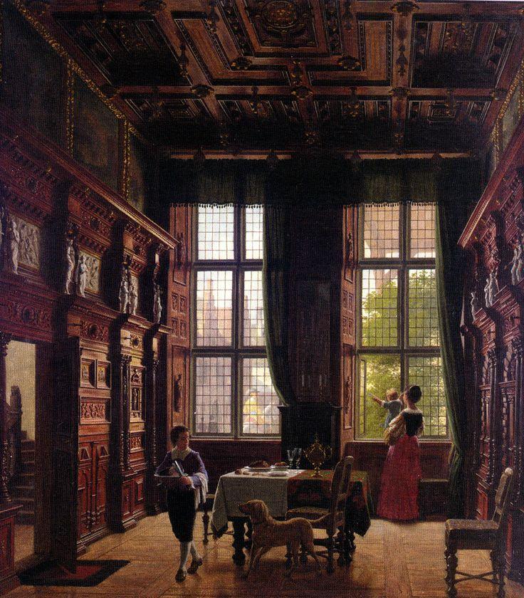 Interior, Lubeck, Heinrich Hansen. Danish ( 1821 - 1890)    WOW!!!