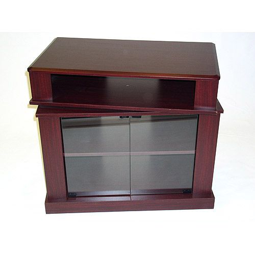 Cherry TV Stand with Swivel Top, for TVs up to 32""