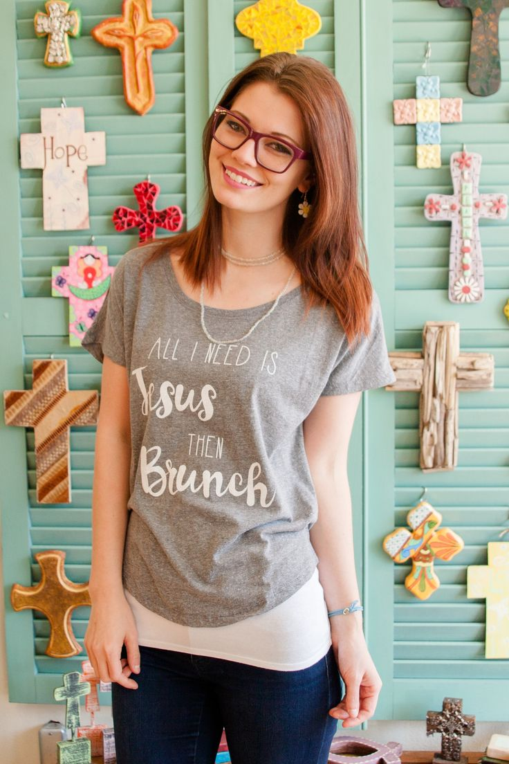 """There is so much truth in this simple yet powerful statement tee. - 50% Polyester, 25% Rayon, 25% Cotton - Pre-Shrunk - Short Sleeve - Approximately 28""""L"""