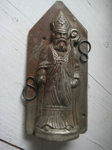 antieke chocolademal sinterklaas