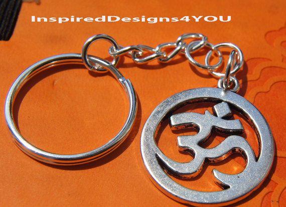 Buddist or Hindi Key Chain Prayer Bead by JewelleryInspired4U