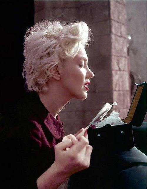 Marilyn Monroe. Photo by Milton Greene, 1956.