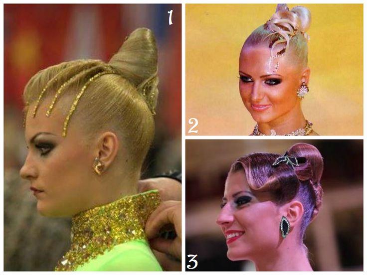 Hair Inspiration for Ballroom Dancing #hair #dance #style #ballroom