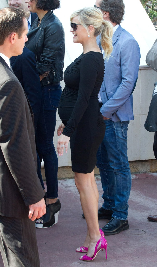 I hope i look this fabulous when im pregnant! Reese Witherspoon In Cannes