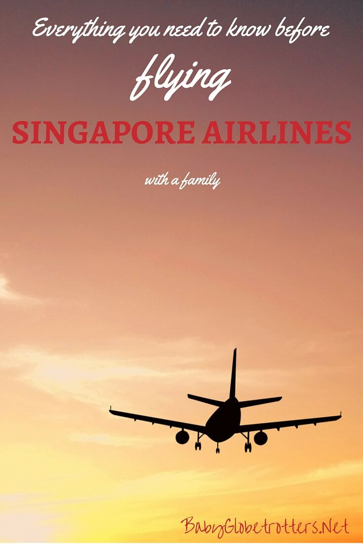 Everything you need to know before flying Singapore Airlines with a family | Guidance on pregnancy and infant policies, luggage allowances, unaccompanied minors and frequent flyer benefits for family members | Family Airline Reviews | OurGlobetrotters.Net