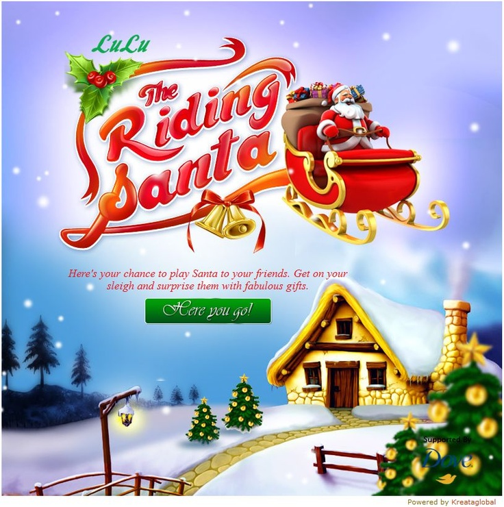 Here's our latest app that lets you play Santa to your friends! Try the game and let us know what you think of it.