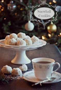 Snowball Christmas Cookies, best ever!