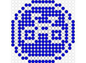 Bike - Fahrrad hama perler beads pattern