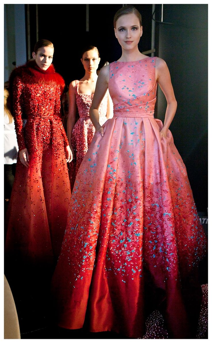 the cinderella project: because every girl deserves a happily ever after: Backstage at Elie Saab