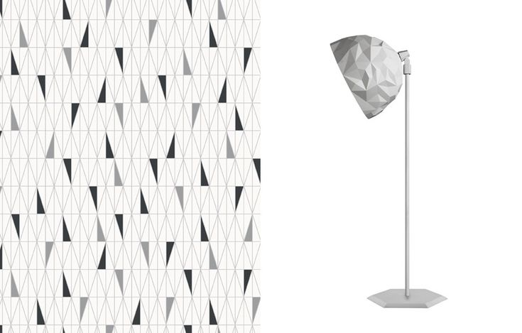 Papel de parede Scandinavian Design 2754, da Borastapeter na Orlean (orlean.com.br)