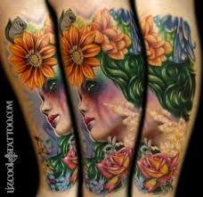 Image result for pretty mother nature tattoo