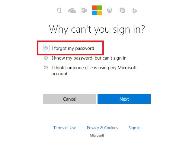 how to save password in outlook.com hotmail live account