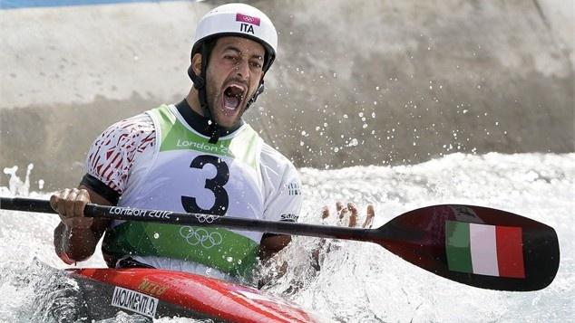 Daniele Molmenti of Italy won the gold medal in men's single kayak slalom