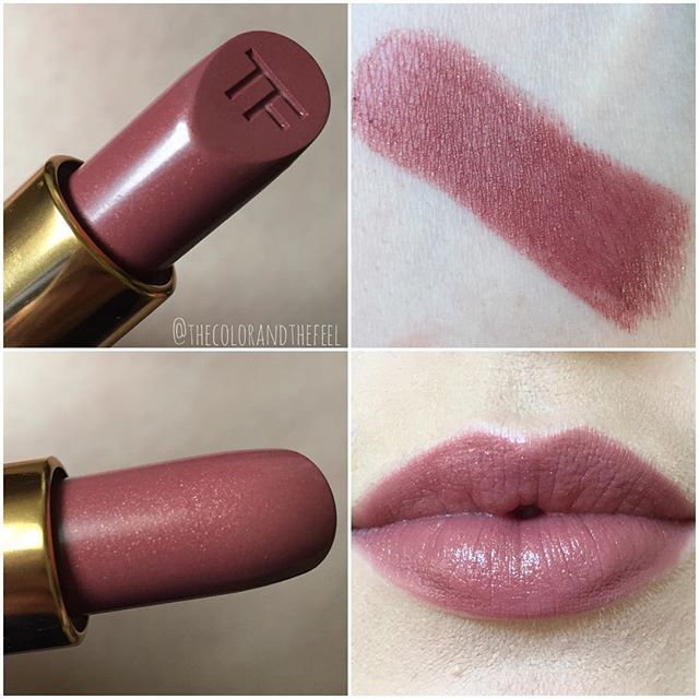 Tom Ford lipstick in So Vain
