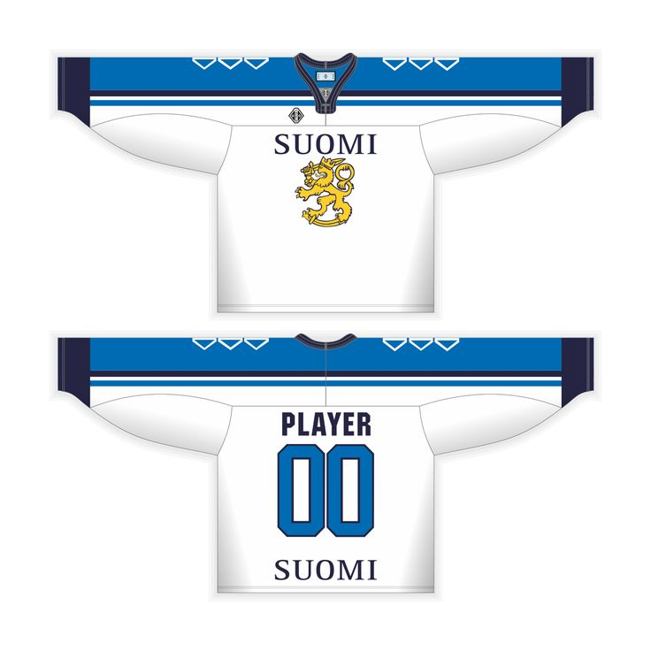 Tackla Suomi Leijonat Replica Jersey Numer and Name Printing Unisex Jr Sr - Fan Products - Buy from web store Tackla products - Tackla Pro Ltd. online store