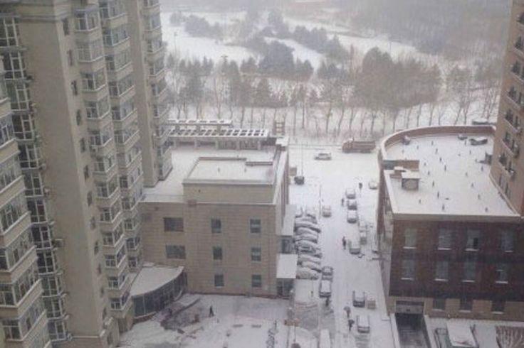 Fortes tempestades de neve atingem nordeste chinês | #Changchun, #China, #EpochTimes, #Haerbin, #Heilongjiang, #Jilin, #Nevasca, #Neve, #Tempestade, #Tonghua