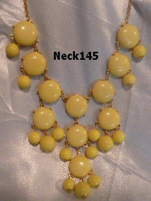 Necklace Yellow #Neck145