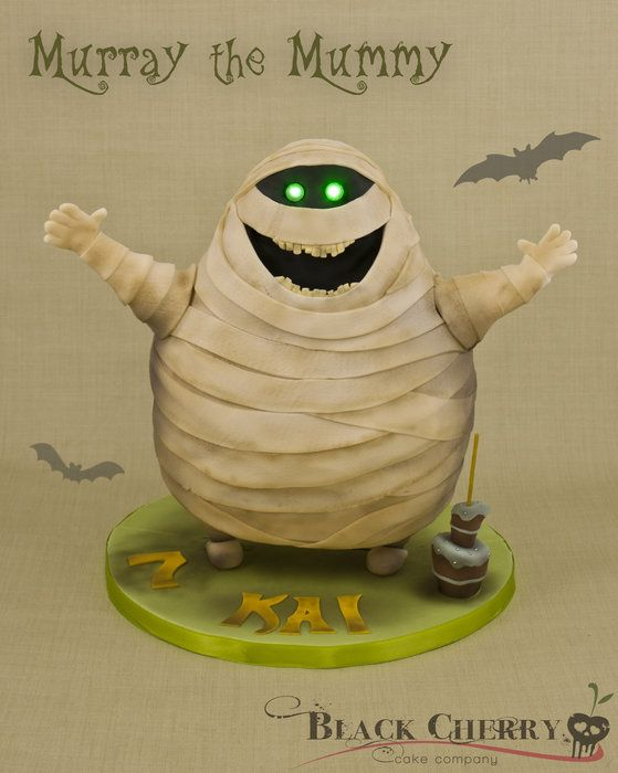 Murray the Mummy (voiced by Ce-Lo Green) from Hotel Transylvania  -- http://www.facebook.com/littlecherrycakecompany