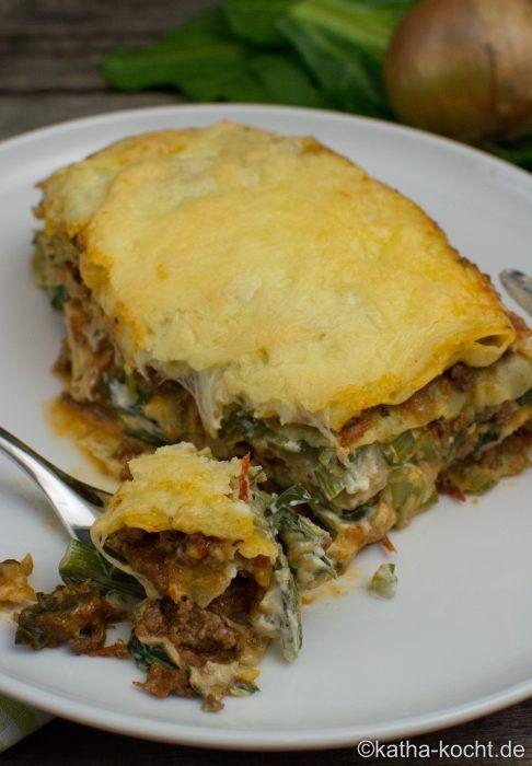 Bolognese-Mangold Lasagne - katha-kocht!