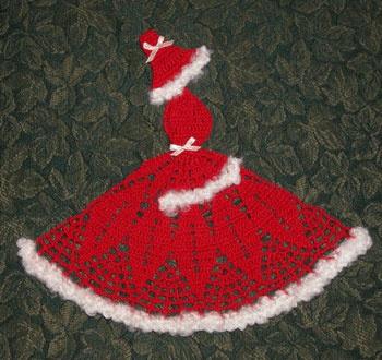Christmas Crinoline Girl