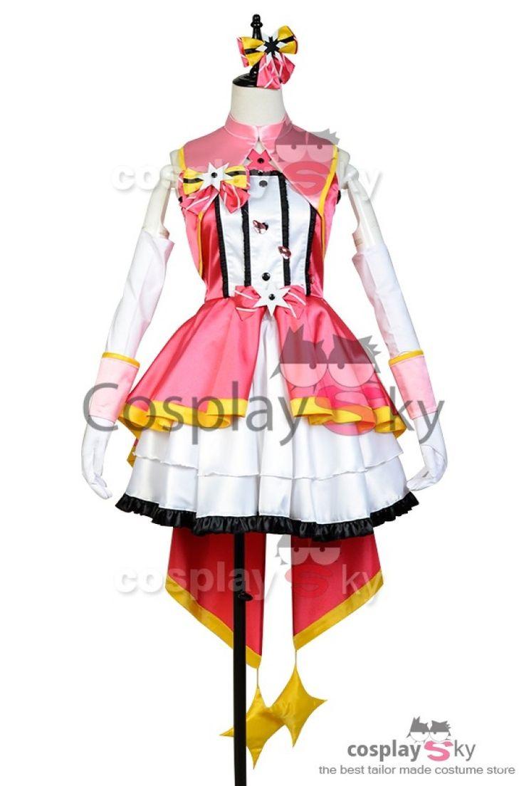 The Idolmaster Cinderella Girls Uzuki Shimamura Cosplay Costume_1