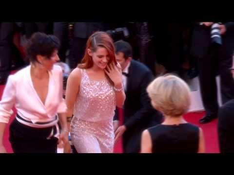 Cannes 2014 - SILS MARIA : Montée des marches