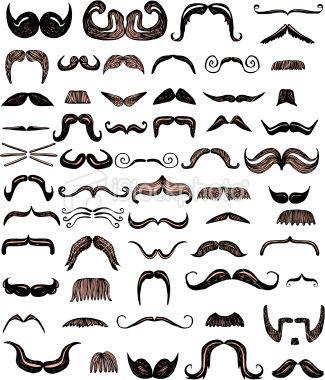 stock-illustration-21964035-set-of-fifty-eight-moustache-styles.jpg (325×380)