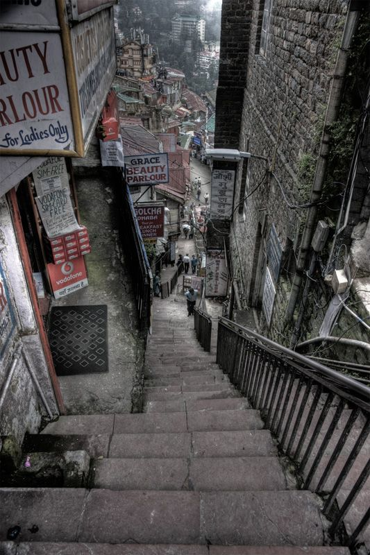 vertigo ...  Shimla, a photo from Himachal Pradesh, North | TrekEarth