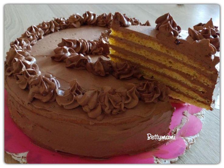 Betty Dobos tortája(dobos cukor nélkül) | Betty hobbi konyhája