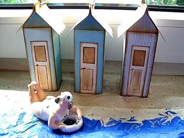 Milchkarton = Strandhäuschen