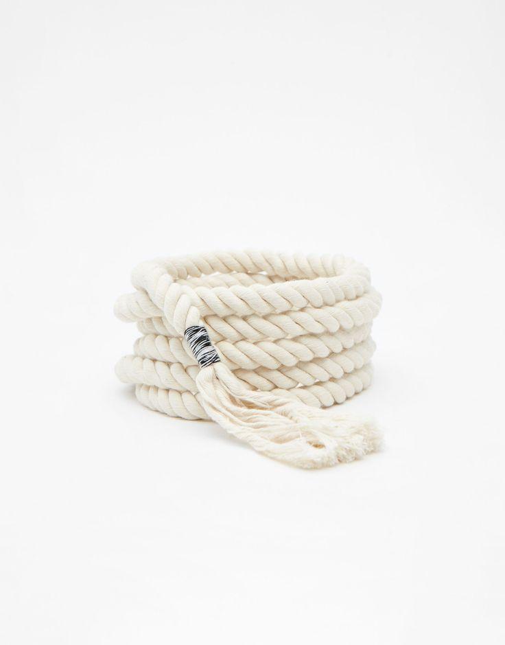 Ceinture corde - Nouveautés - Femme - PULL&BEAR France