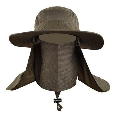 Outdoor Hiking Caps Summer Sun Hats Men Large Round Brim Sports Caps Fishing Bucket Hat For Travel Hat Mountain Climbing Brand