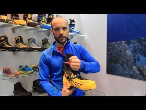 Sandro De Zolt present new Syborg ski boots at Ispo Munich 2014
