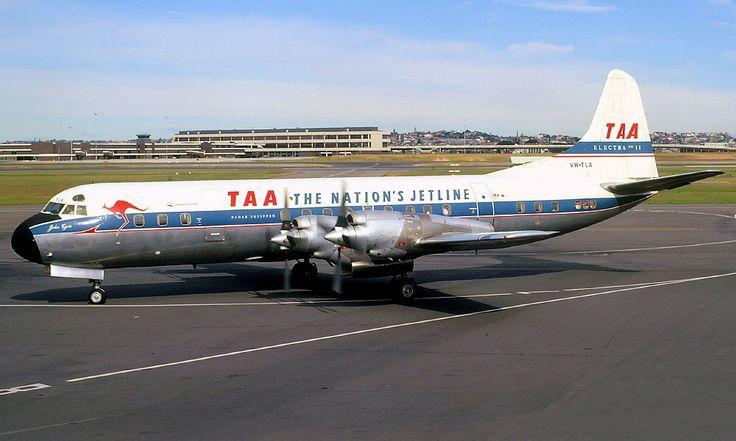 TAA Lockheed  Electra 118A  (VH-TLA)