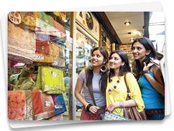 Chandni Chowk : It is the perfect place to shop in. This densely populated market has been around for more than three centuries and was once visited by merchants from Turkey, China and even Holland.