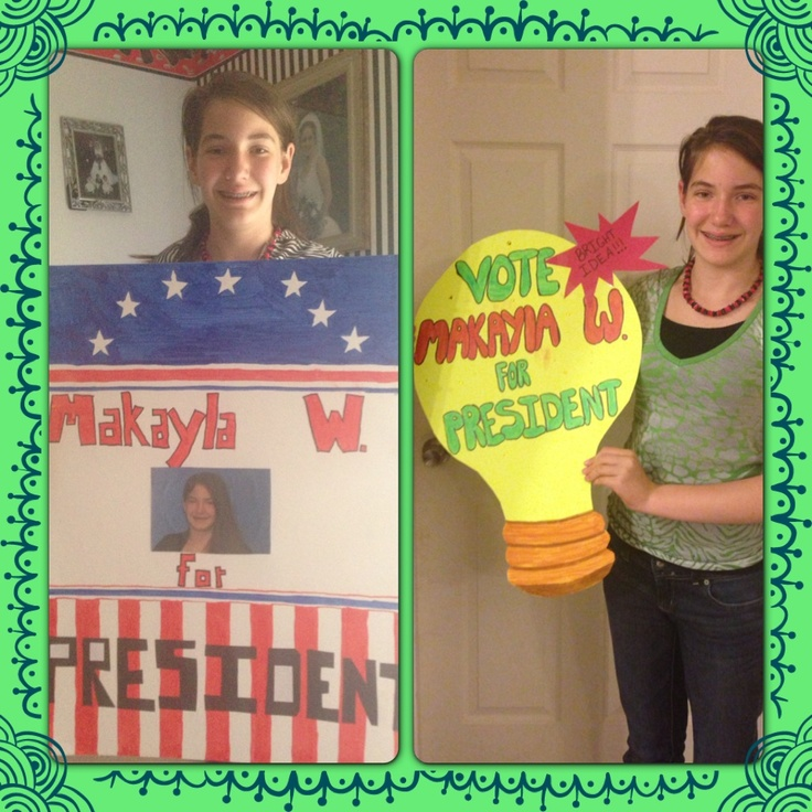 Classroom Election Ideas ~ Best images about campaign poster ideas on pinterest
