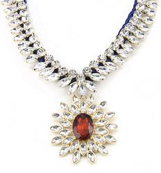 Sunshine Choker Bib Collar Statement Necklace