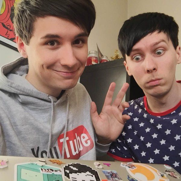 """""""hey! @danisnotonfire & @amazingphil here with 57 million followers WE CAN'T HANDLE THE POWER #YouTubeRewind - D&P"""""""