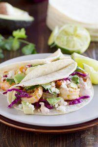 Chipotle Lime Shrimp Tacos Recipe