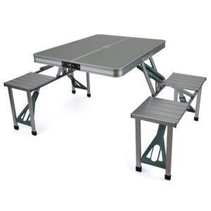 Royal Aluminium Folding Picnic Table And Chairs Set