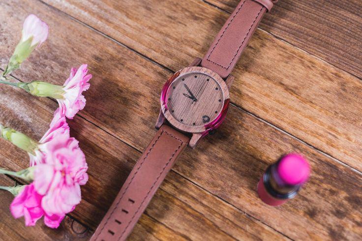 slick-series-pink-4 - Zegarki drewniane