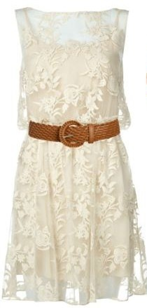 ~ love. With cowgirl boots :) have similar lace dress that I am getting boots to wear with. Great look