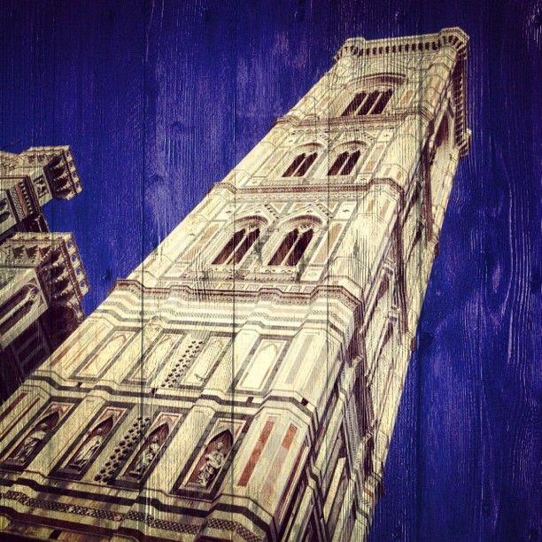 Progetto Instagram iPhone: Paesaggi, Campanile di Giotto (Firenze). Art Director: Lapo Secciani Photographer: Lapo Secciani.